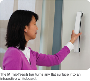 MimioTeach portable interactive whiteboard
