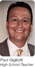 Paul Gigliotti, High School Teach