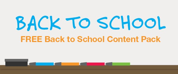 Back to School Content Pack 2014