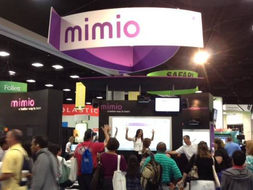 Mimio Booth at ISTE