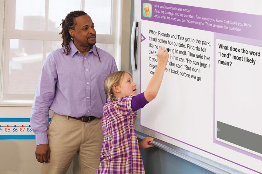 MimioReading comprehension suite group instruction