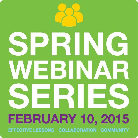 Mimio Spring Webinar Series