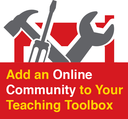 Online Educator Community in Your Teaching Toolbox