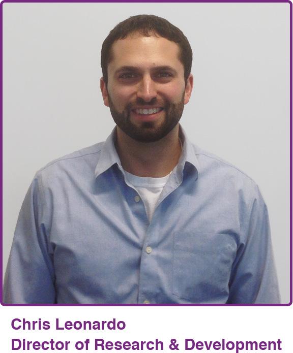 Chris Leonardo Director of Research and Development, Mimio