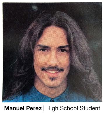 Manuel Perez High School Student