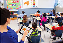 Control the Front of the Classroom with the MimioMobiel app