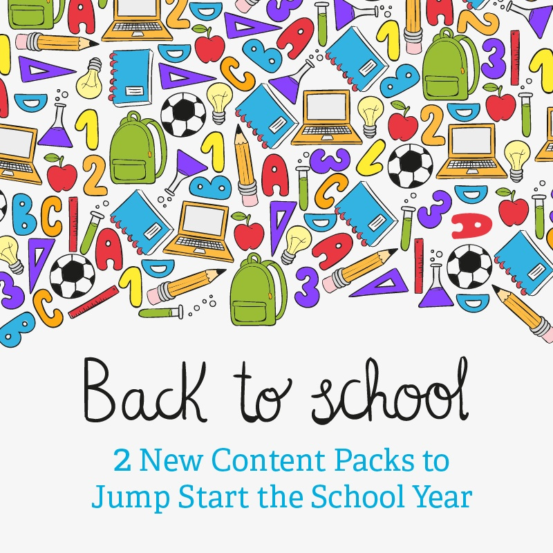 2015 Back to Schoo lContent Packs