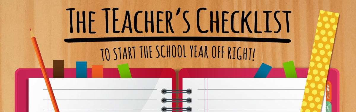teacher checklist