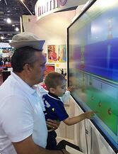 Mimio touch display