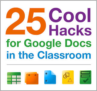 25 Cool Hacks for Google Docs in the Classroom