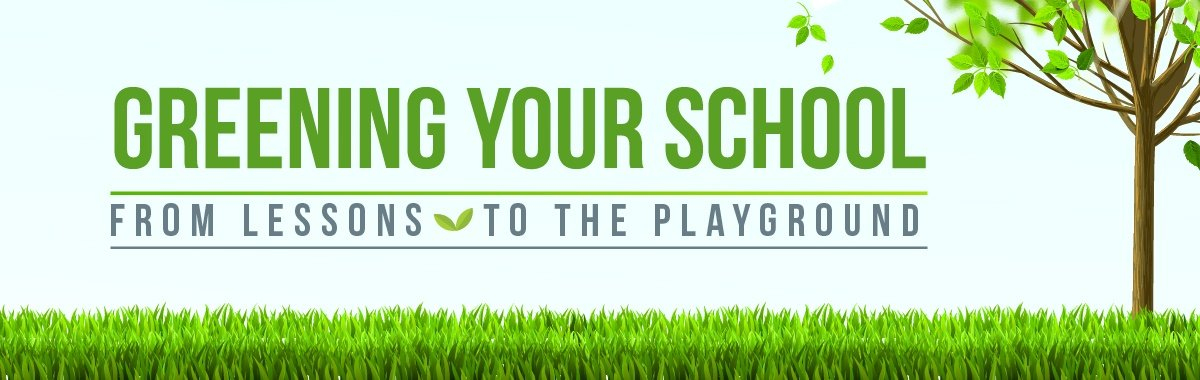 Greening your school - from STEM Curriculum to the playground.