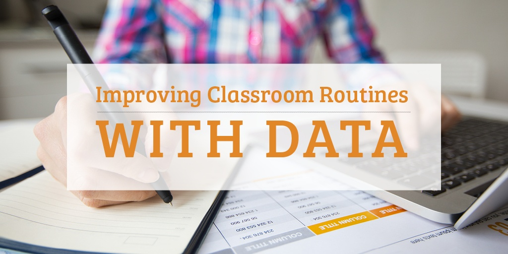 Improving the quality of teaching and learning with data heading