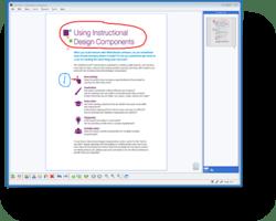 MimioStudio Classroom Software Pen Tool Screen
