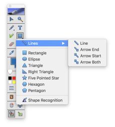 MimioStudio Classroom Software Shape Tool