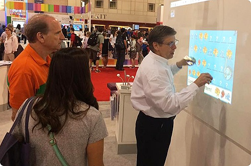 Mimio touch projector premiering at ISTE 2015