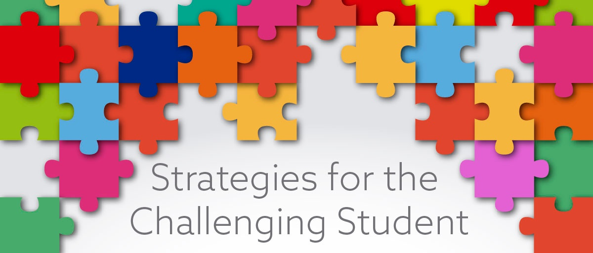 Strategies for the Challenging Student-01