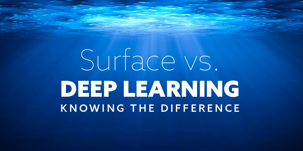 Surface vs Deep Learning Image