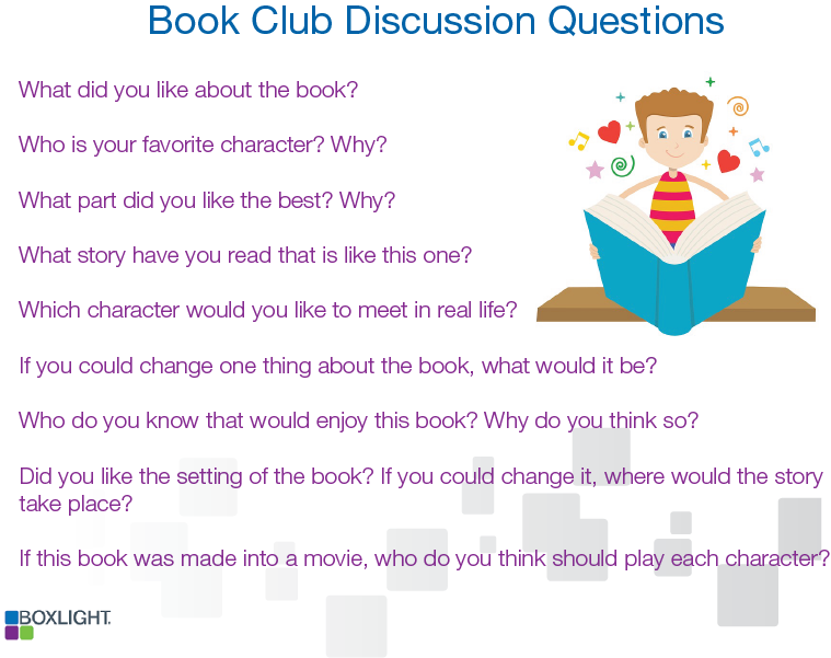 Book Club Discussion Questions_18 Summer reading blog