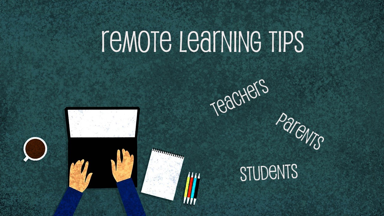 Remote Learning TIPS banner